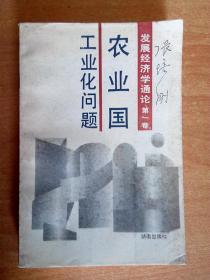 农业国工业化问题(发展经济学通论 第一卷)