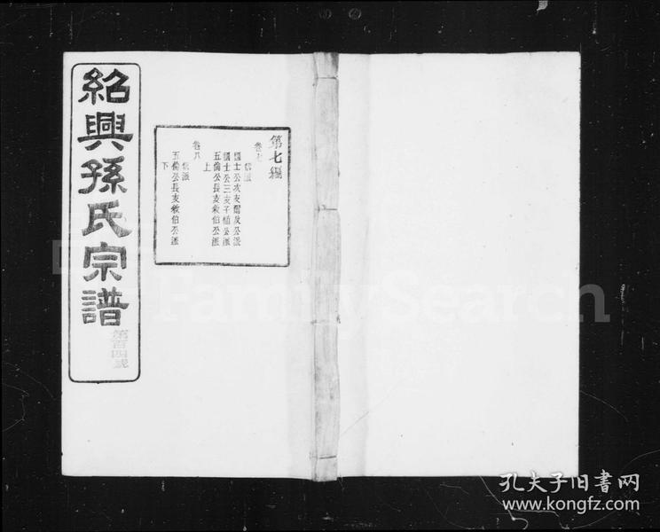 天乐孙氏宗谱 [20卷]