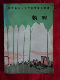 朝晖——知识青年上山下乡短篇小说集