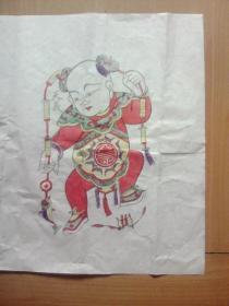 朱仙镇木板年画(双扇门图)
