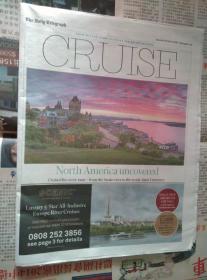 THE DAILY TELEGRAPH CRUISE 每日电讯报 2017/03/18 只有旅行版 外文报纸