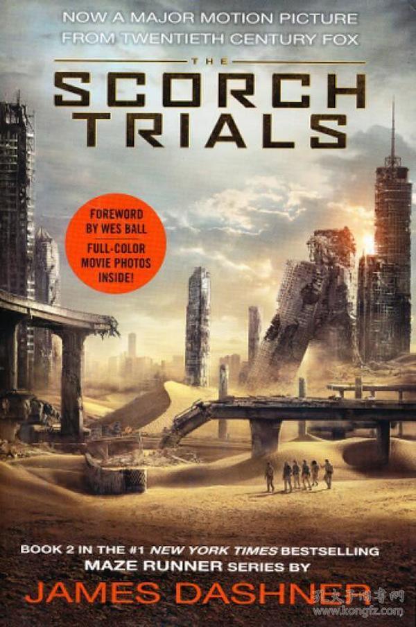 The Scorch Trials Movie Tie-in Edition移动迷宫