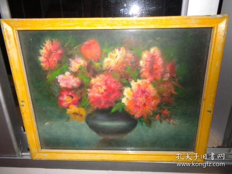 4刚收来的老油画---38厘米*30厘米(卖时候去框)