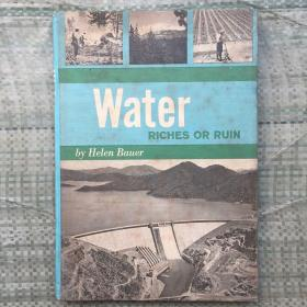 Water RICHES OR RUIN  外文原版  精装