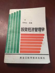 投资经济管理学
