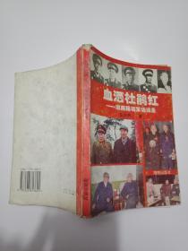 血洒杜鹃红 ----湖南籍将军访谈录----私藏内页9品如图