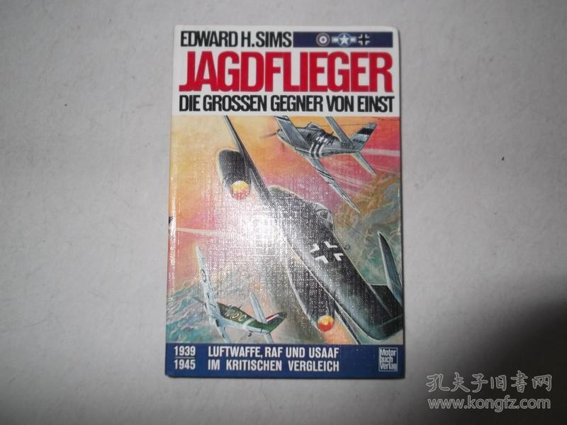 Jagdflieger - Die grossen Gegner von einst. Luftwaffe, RAF und USAAF im kritischen Vergleich 1939-1945