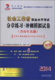 2014社会工作者职业水平考试分章练习 冲刺模拟试卷(初级) 9787509350751