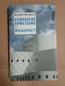 GEBRAUCHS ANWEISUNG FüR Düsseldorf