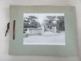 清华大学建筑系旧藏照片资料  10张  尺寸13×10厘米 尺寸大小不一