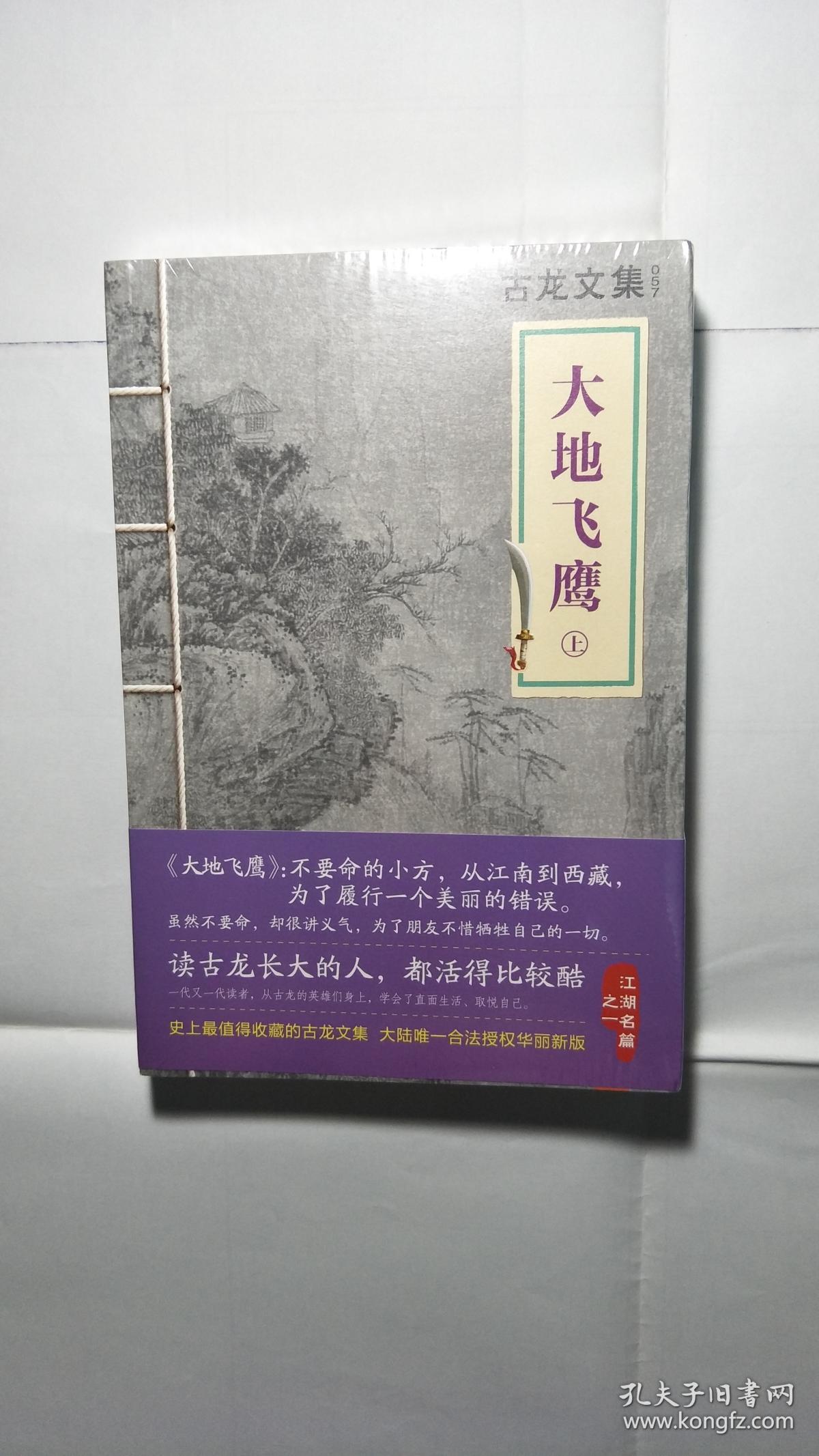 古龙文集:大地飞鹰(上,下册)(未开封)