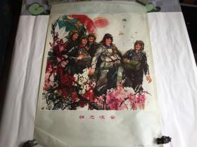77年2开宣传画《壮志凌云》