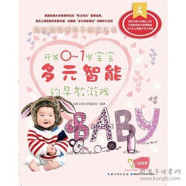 9787535261632开发0-1岁宝宝多元智能的早教游戏