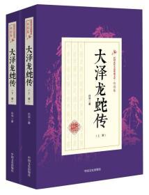 大泽龙蛇传:全2册(民国武侠小说典藏文库·白羽卷)