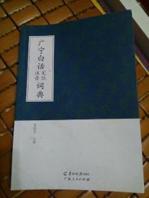 《广宁白话定位注音词典》