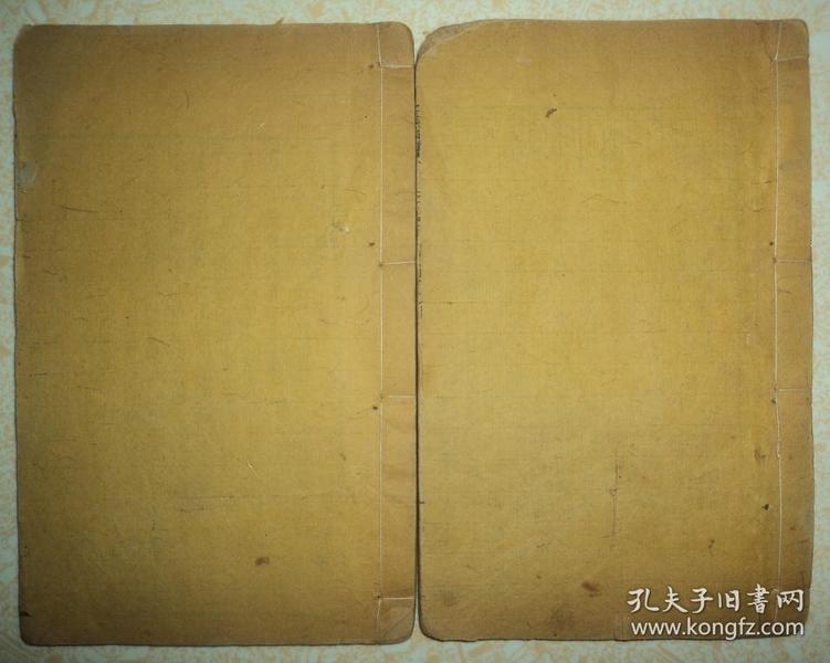 清代木刻鼓词小说、【升仙传】、卷七卷八、两册品好完整(木活字刻本)