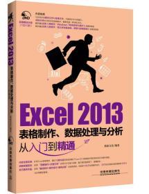Excel 2013表格制作、数据处理与分析从入门到精通