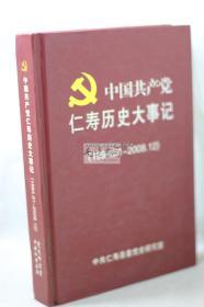 中国共产党仁寿历史大事记(1994.01-2008.12)