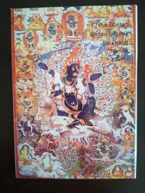 藏族佛教壁画明信片一套十枚a