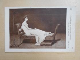 民国明信片【卢浮宫人物绘画】