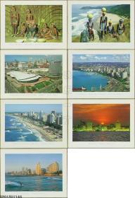明信片-南非原版·风光人情12枚(宽条码7枚窄条码5枚)*