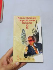 NOAM  CHOMSKY  LE  PROFIT  AVANT  I HOMME