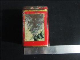 上世纪70-80年代饼干糖果药品茶叶等铁皮盒包装盒民俗老物品~铁皮盒。