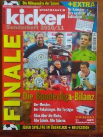 原版踢球者2010/ 11增刊