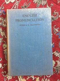 ENCLISH  PRONUNCIATION PETER A. D.MACCARTHY