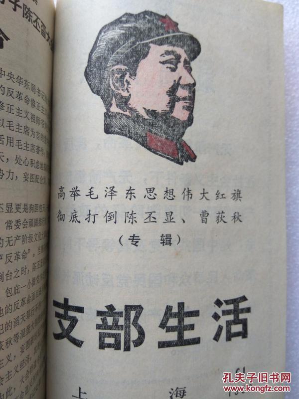 支部生活等文选合订本(1967--1968)