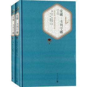 新书--名著名译丛书:安娜·卡列宁娜(套装上下册)
