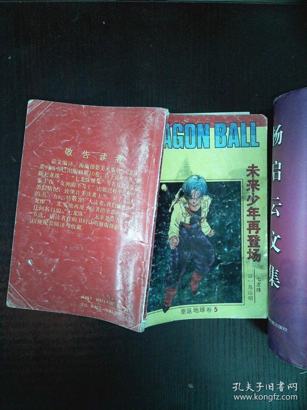 七龙珠:重返地球卷(5)--未来少年再登场