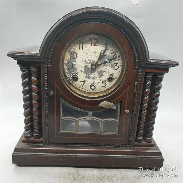 古玩收藏 解放时期 老坐钟