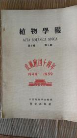 1959年植物学报