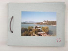 清华大学建筑系旧藏照片资料  一套12张  尺寸12.5×8.5厘米 尺寸大小不一