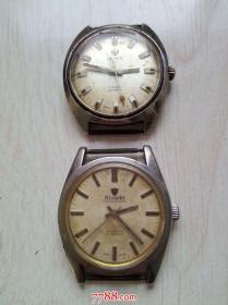 瑞士机械手表奥尔马,尼维达两块同售