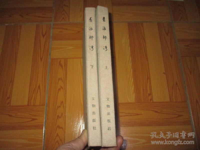 青海柳湾:乐都柳湾原始社会墓地(上、下册)     16开,硬精装, 84年1版1印