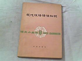 现代汉语语法知识