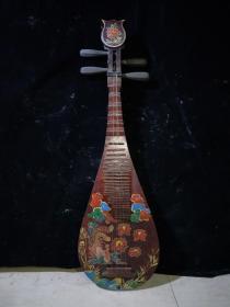 漆器琵琶,代理转图可以加价,运费自理。