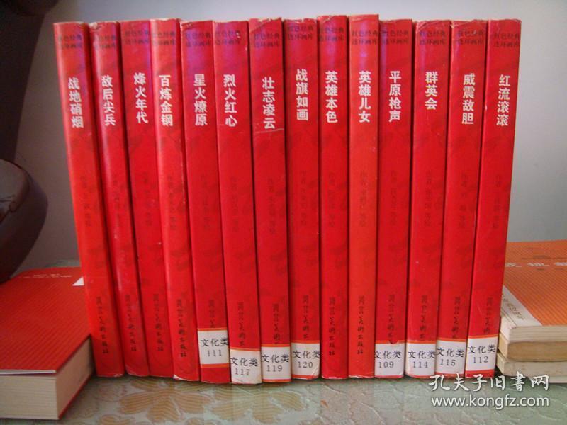 《红色经典连环画库》14册全
