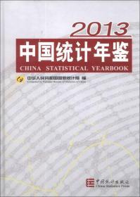 中国统计年鉴2013