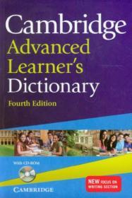 Cambridge Advanced Learners Dictionary with CD-ROM剑桥高阶最新词典,第四版,附CD 英文原版
