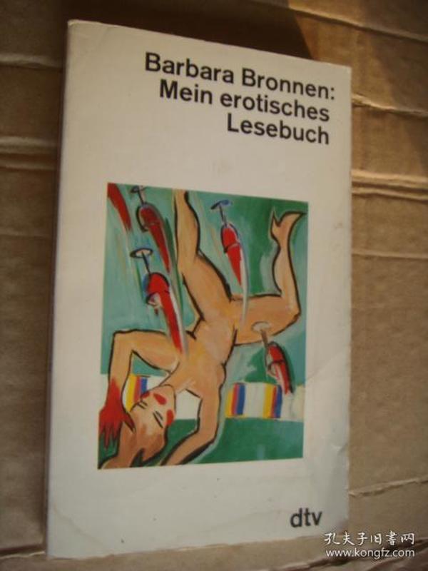 Barbara Bronnen:Mein Erotisches Lesebuch