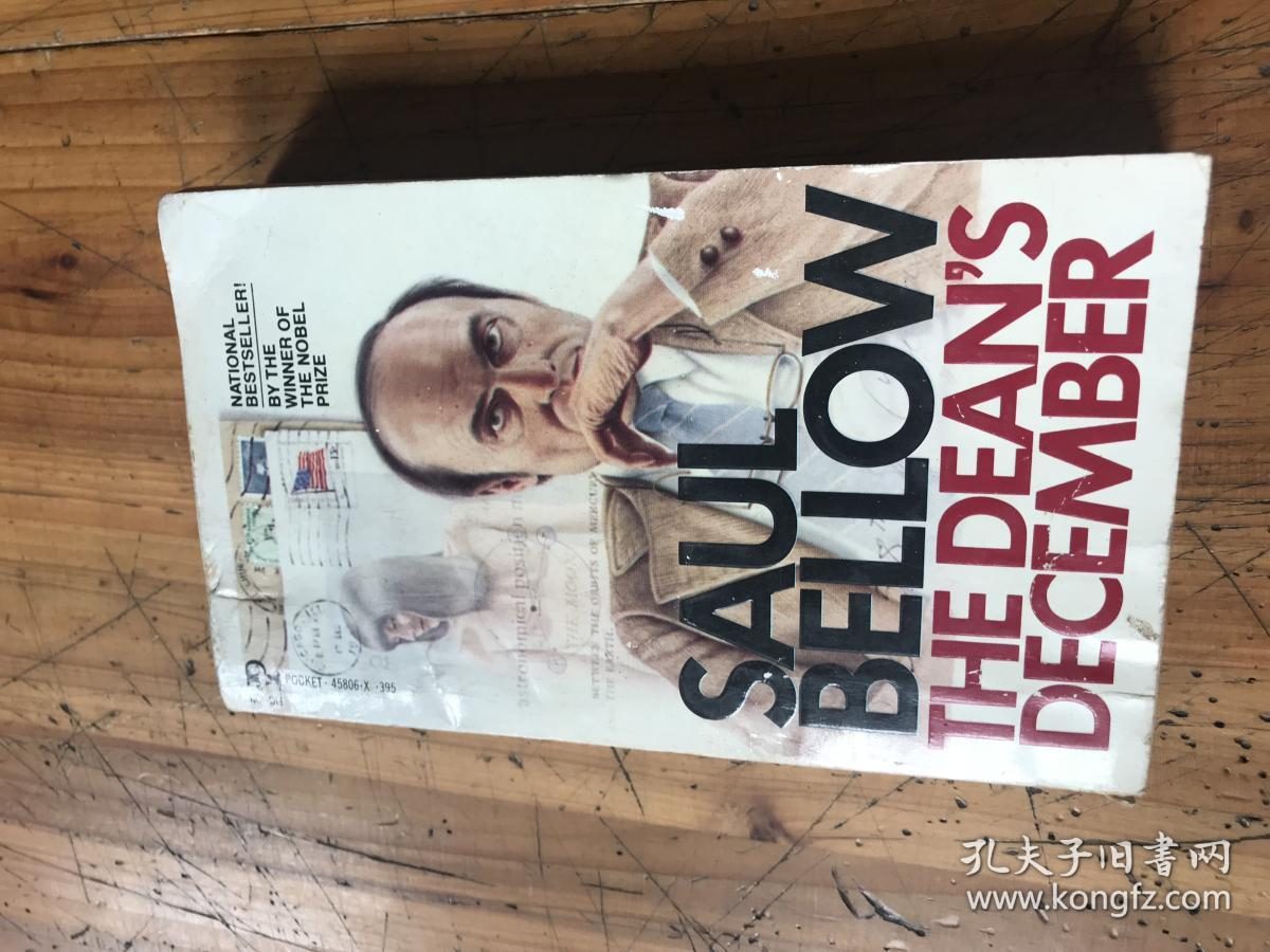 2630:1982年 英文原版《saul bellow the dean's december 》