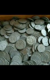 铝分币人民银行125分硬币200枚。