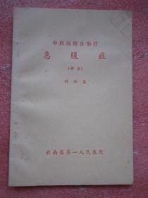 中西医结合治疗 急腹症    刘兴志著
