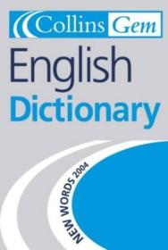 English Dictionary (collins Gem)