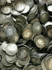 民国钱币【是十个100块】