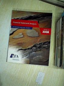 FINANCIAL STATEMENT ANALYSIS  (LEVEL ll  2008  VOLUME2)