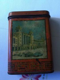 文革时期语录铁漆盒